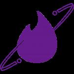 tinderliekki_violetti